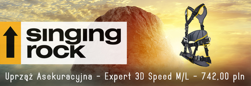 SINGING ROCK - Uprząż Asekuracyjna - Expert 3D Speed M/L